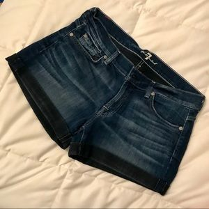 7 For All Mankind- Denim Shorts